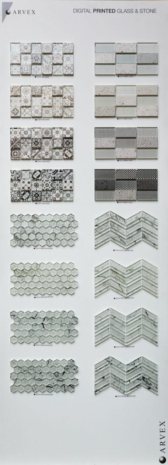 Mosaico - Digital Printed Glass e Stone
