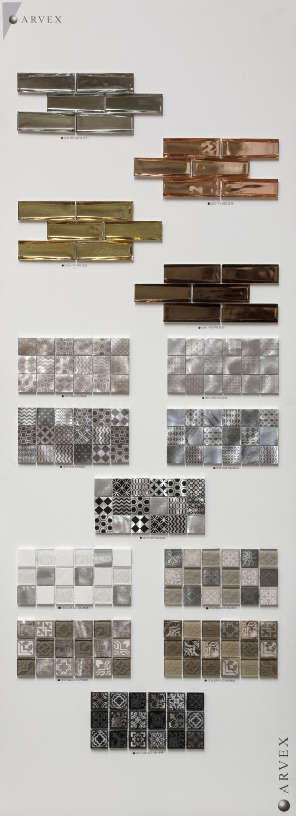 Mosaico - Electroplated Glass