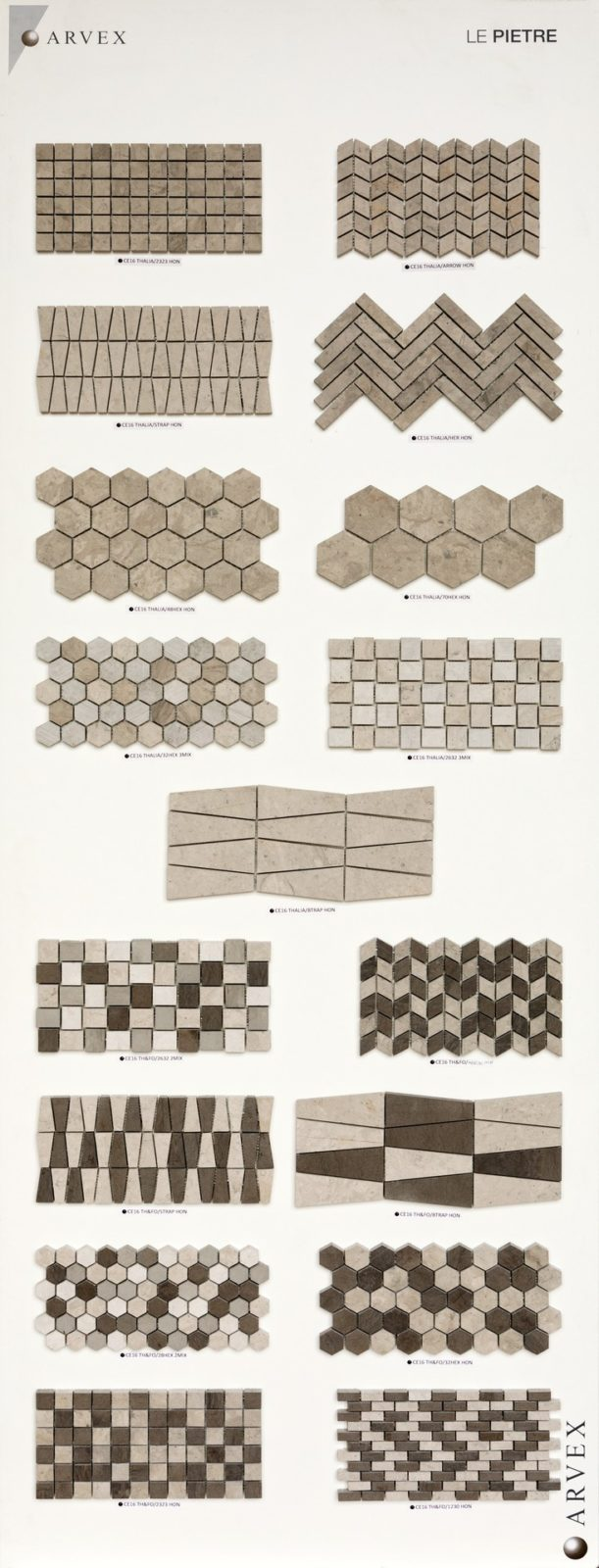 Mosaico - Le Pietre 02