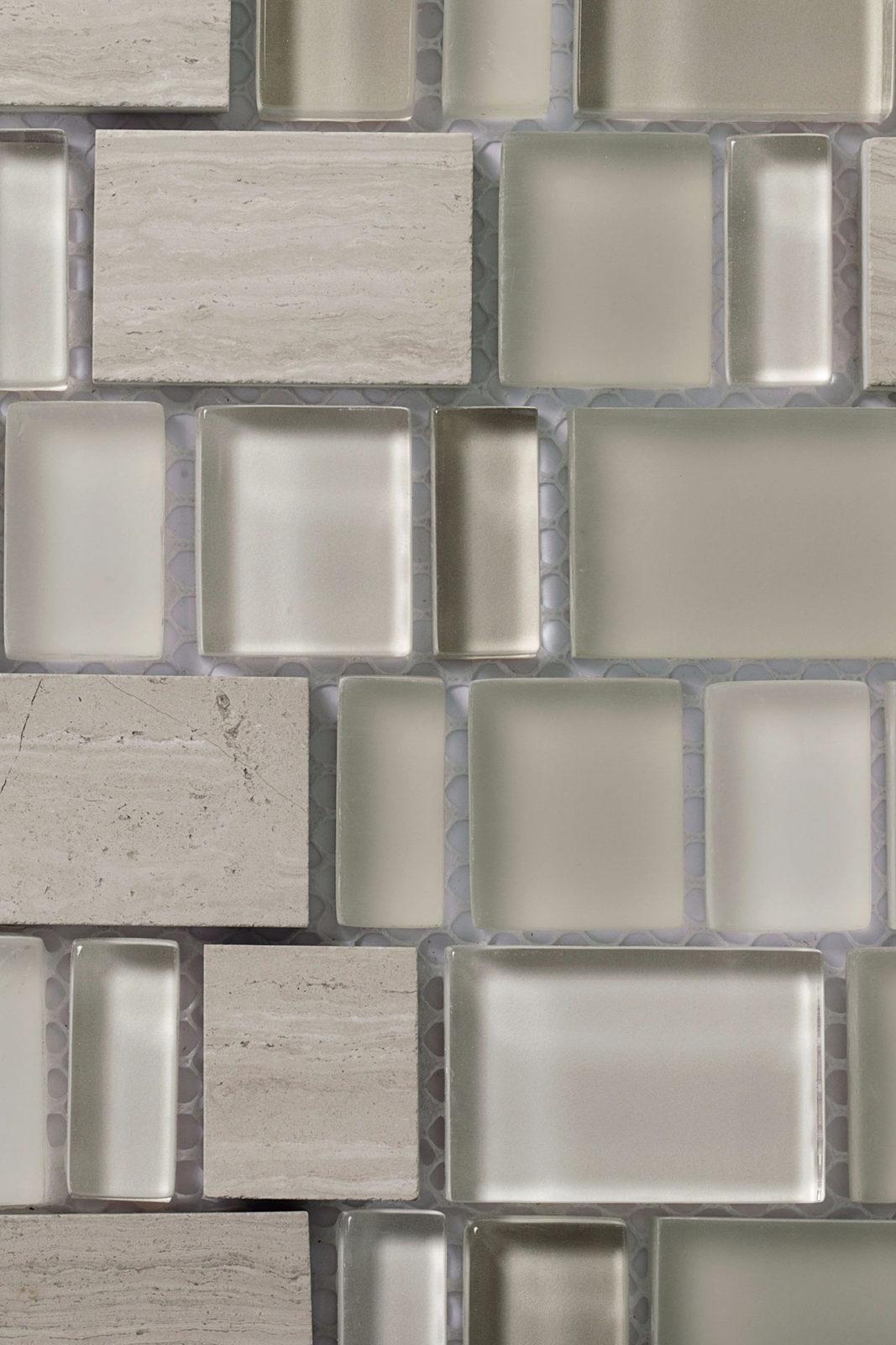 Mosaico - Le Pietre Wooden White 01