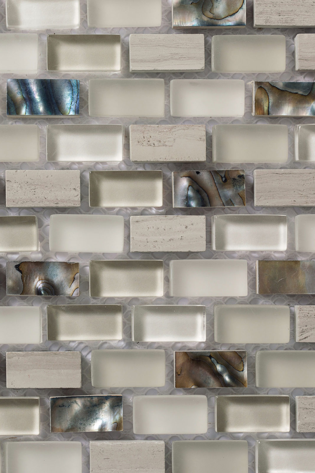 Mosaico - Le Pietre Wooden White 03