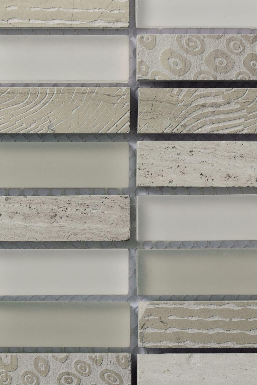 Mosaico - Le Pietre Wooden White 04