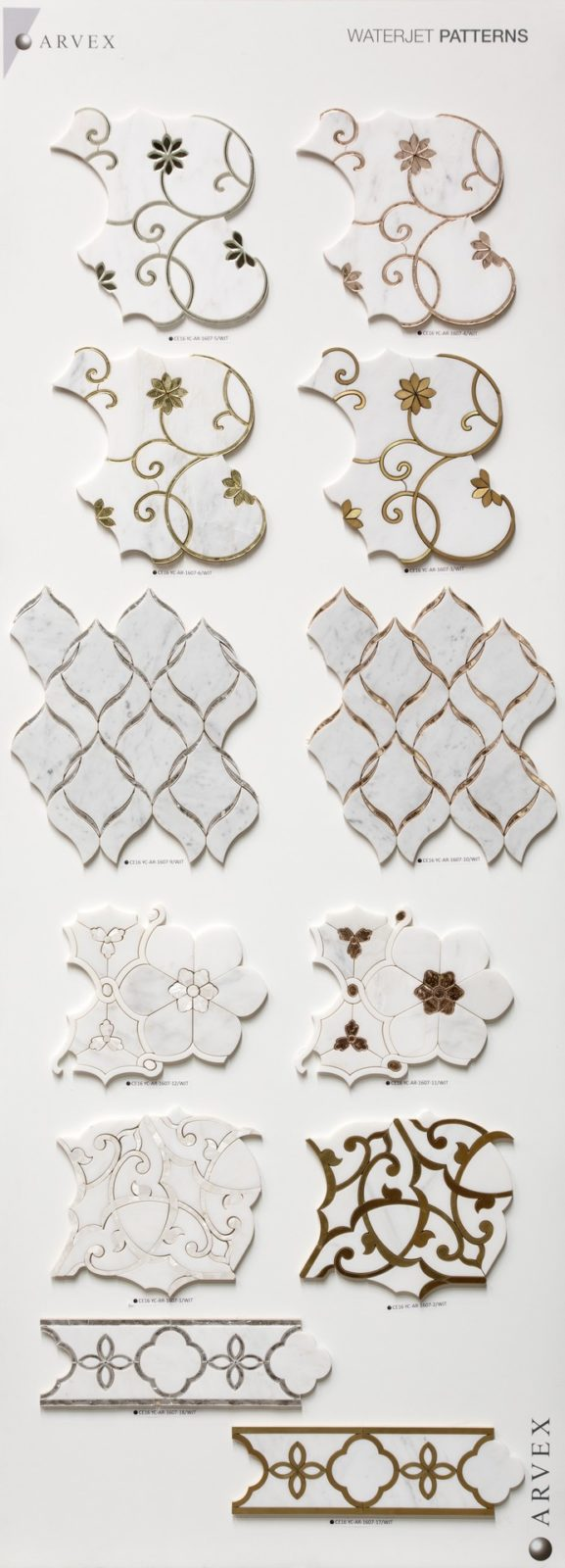 Mosaico - Waterjet Patterns 02