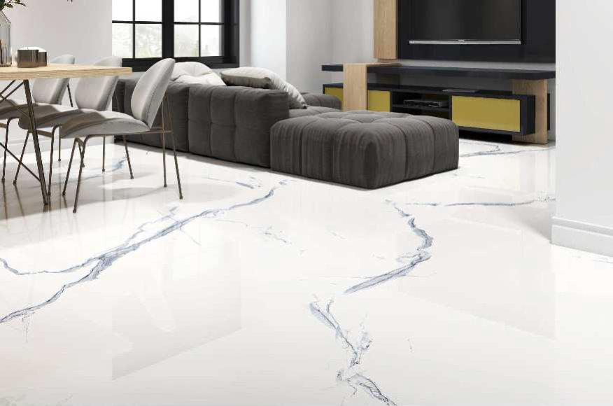 Digital Glazed Vitrified Tile 600600mm gtv pgvt 1153 ambient