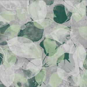fashion wall 100 100 foglie b verde