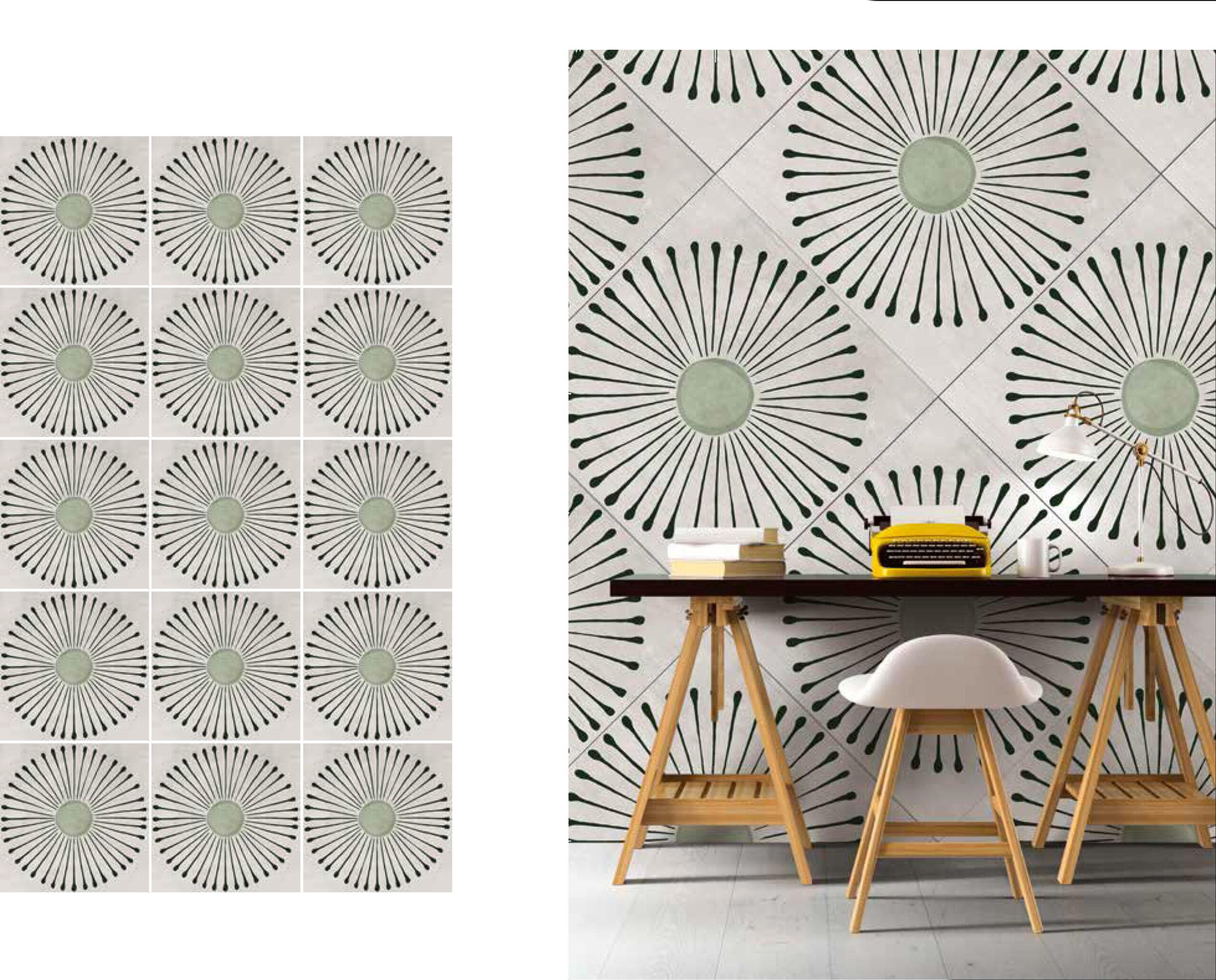 fashion wall 100 100 girasole ambientes