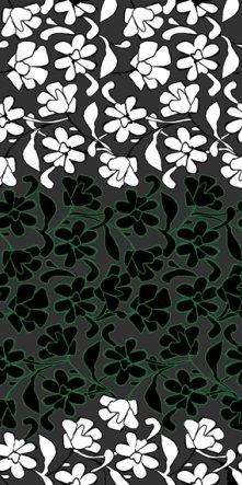 fashion wall 50 100cm damasco italiano a verde