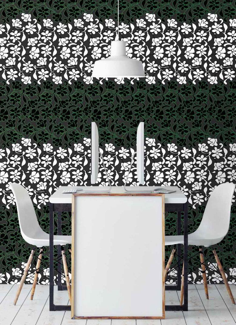 fashion wall 50 100cm damasco italiano ambientes