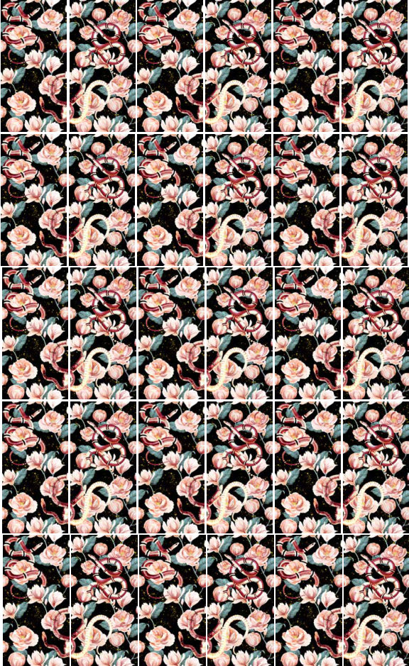 fashion wall 50 100cm guci graphic movement