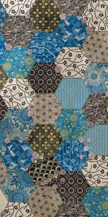 fashion wall 50 100cm hexago b notte