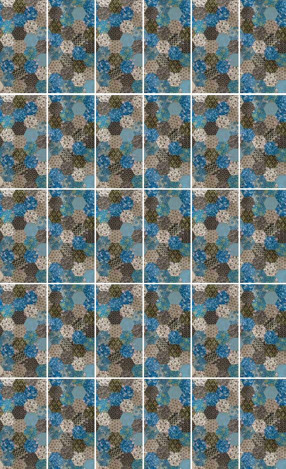 fashion wall 50 100cm hexago graphic movement