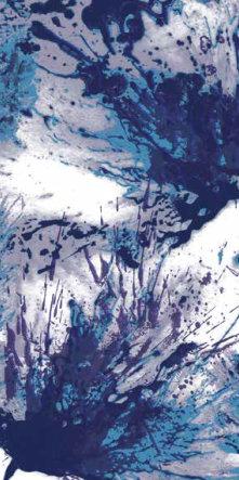 fashion wall 50 100cm splash a blu