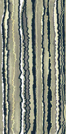 fashion wall 50 100cm zig zag a verde