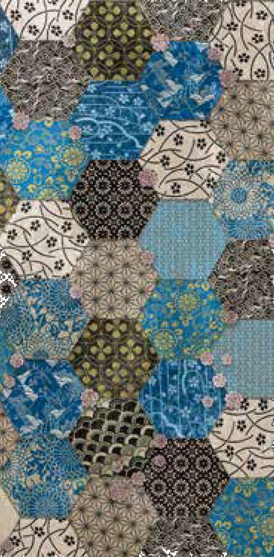 fashion wall hexago